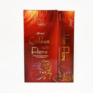 Incienso Golden Flora - Balaji
