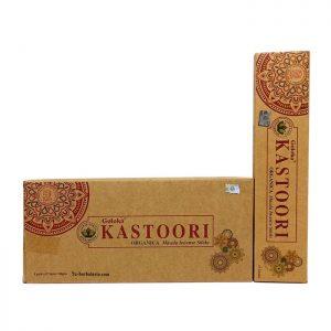 Incienso Goloka. Orgánico Kastoori