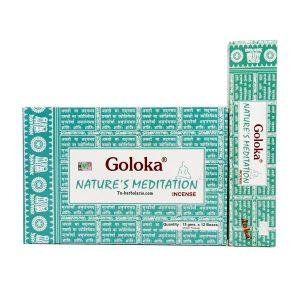 Incienso Goloka. Nature's Meditación