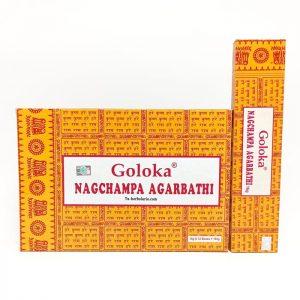 Incienso Goloka. Nag Champa Agarbathi
