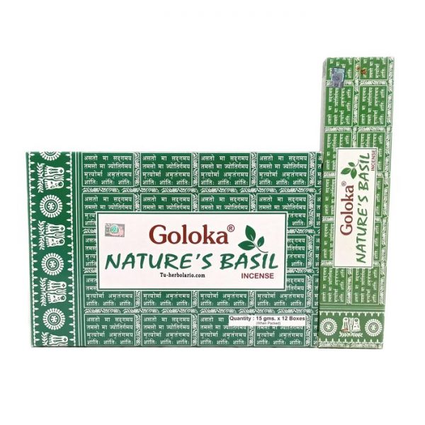 Incienso Goloka. Nature's Basil