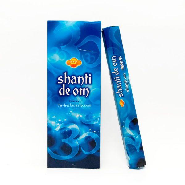 Incienso Om Shanti Sac.