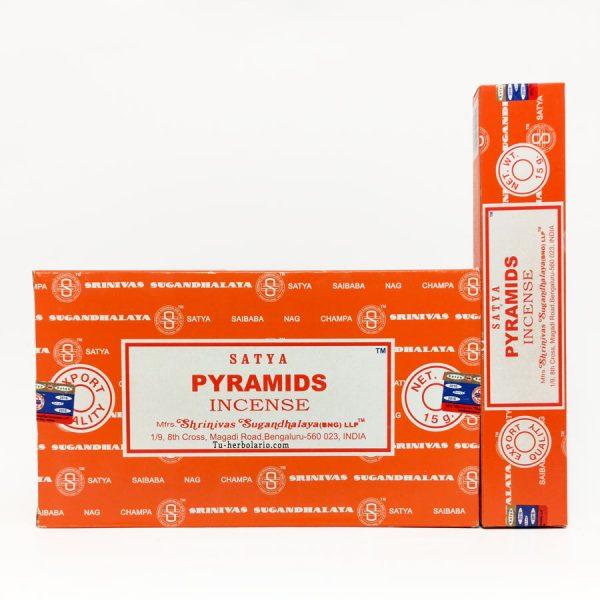 Incienso Pirámides Satya.