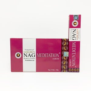 Golden Nag Meditación - Incienso Masala Vijashree