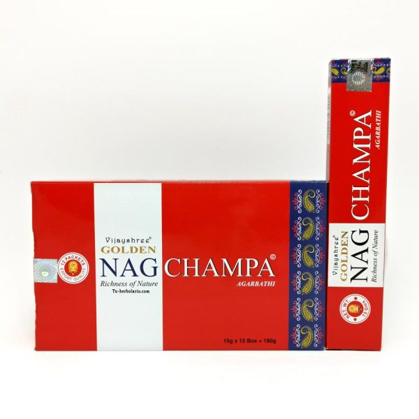 Golden Nag Champa - Incienso Masala Vijashree