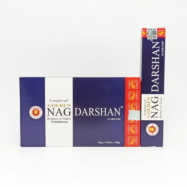 Golden Nag Darshan - Incienso Masala Vijayshree