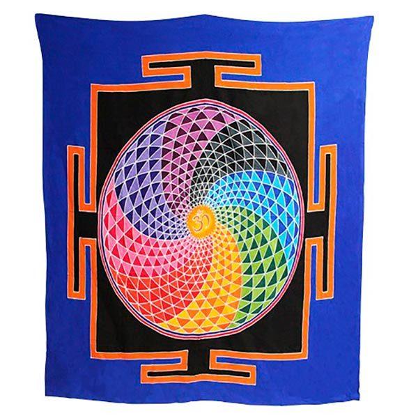 Tapiz Mandala Espiral Mágico