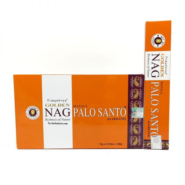 Golden Nag Palo Santo - Incienso Masala Vijayshree