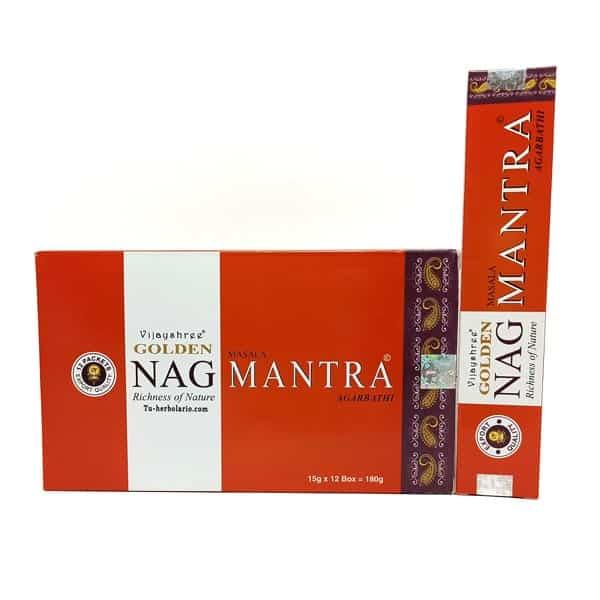 Golden Nag Mantra - Incienso Masala Vijayshree