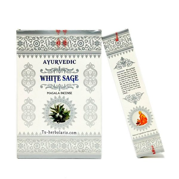 INCIENSO WHITE SAGE - AYURVEDIC
