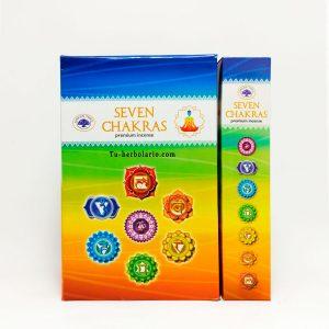 Incienso Green Tree 7 Chakras Premium